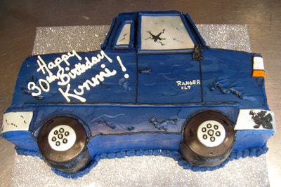 Pick Up Truck Cake