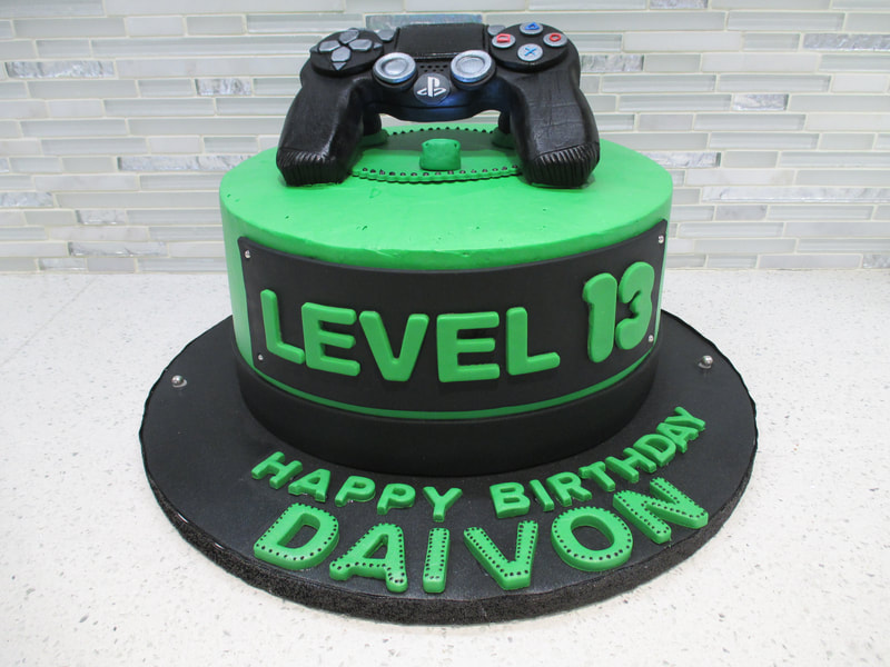 Play Station Birthday Cake