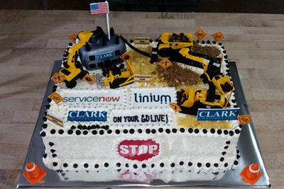 Corporate Retirement Cakes Arlington VA Cakes by Chris Furin
